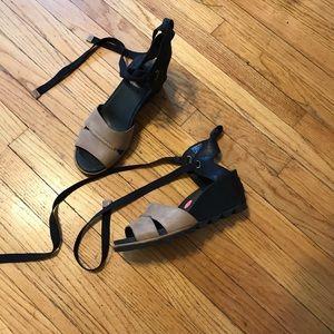 Brand new Sorel sandals size 9